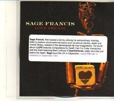 (DS34) Sage Francis, Love The Lie - 2010 DJ CD