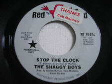 PROMO The Shaggy Boys Stop the Clock 1966 45rpm VG++ GARAGE