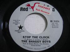 PROMO The Shaggy Boys Stop the Clock 1966 45rpm VG++ GARAGE