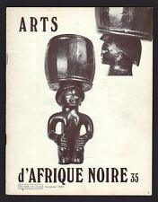 revista blanco D ARTES África NEGRO no°35 par Raoul Lehuard 1980