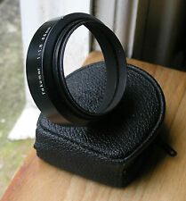original metal Asahi Pentax Takumar M42 49mm screw in Lens Hood for 55mm 1.8