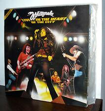 WHITESNAKE   2 LP  LIVE...IN THE HEART OF THE CITY  UK  N/MINT