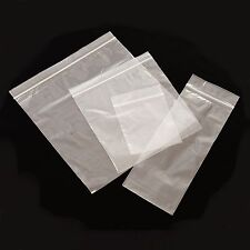 500 PLASTIC RESEALABLE GRIP SEAL BAGS 11 x 16