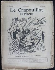 Le Crapouillot: DADA magazine with spurious Picabia Illustration