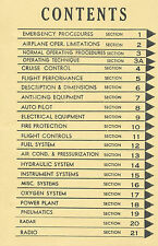 CONVAIR CV-990 / 990A OPERATING MANUAL - AMERICAN AIRLINES
