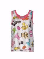 SS15 MOSCHINO COUTURE JEREMY SCOTT BARBIE Paper Doll Accessories Sketch Tank Top