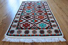 65x120 cm ORIENTAL TAPIS, Tapis, Kelim , Tapis, damaskunst rug S 1-2-04