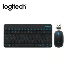 Logitech MK245 USB Nano Wireless Keyboard and Mouse Combo Splashproof Set