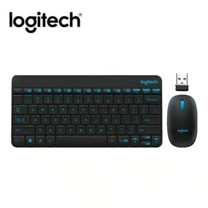 Logitech MK245 USB Nano Wireless Keyboard and Mouse Combo Splashproof Set