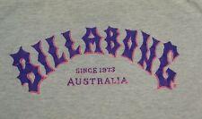 rare vintage Billabong Australia t shirt M surf surfboard purple pink print