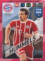Panini Adrenalyn XL Fifa 365 Cards 2018 - 161 - Mats Hummels - FC Bayern München