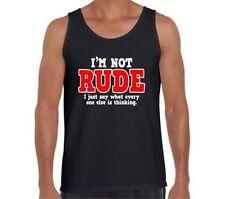 Gildan Solid T-Shirts for Men Rude