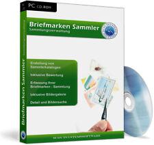 Briefmarkensammlung verwalten,ordnen,bewerten,Katalog erstellen - Software