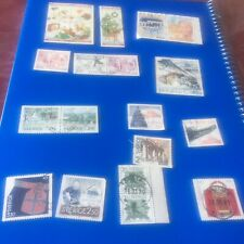 #17 Sweden 1989-90 Selection Stamps and Blocks Used
