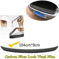 Car Rear Bumper Trunk Sill Pedal Plate Sticker Vinyl Film Anti-Scratch Protector