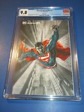 Superman Red and Blue #1 Bermejo Variant CGC 9.8 NM/M Gorgeous Gem Wow
