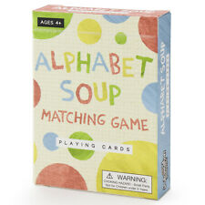Alphabet Soup Matching and Memory Card Game - Australia only