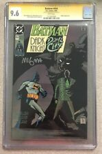 BATMAN #454 CGC 9.6 SIGNED MIKE MIGNOLA DC COMICS COPPER AGE NM+