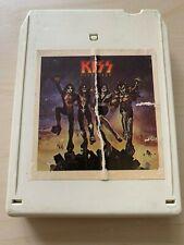 Kiss Destroyer 8 Track Tape