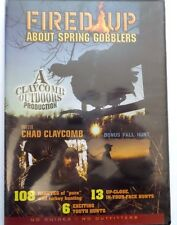 Fired Up About Spring Gobblers (DVD, 2009) Usually ships within 12 hours!!!