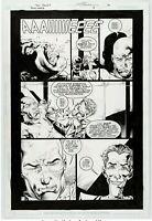 Outsiders #3 Story Page 14 Original Art DC 2003 Tom Raney Scott Hanna