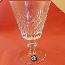 """PIROUETTE Royal Leerdam-Maastricht Goblet 6"""" tall NEW NEVER USED Netherlands"""