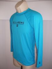 BILLABONG Built to Submerge Blue Youth UVA UVB Sun Protection Swim Shirt Size 16