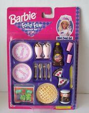 K23 Barbie Food Fun Dessert Free Ship Kitchen Little Nestle Quik Cake Apple Pie