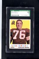 1959 Topps # 60 Lou Groza SGC 84 NM 7