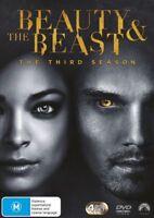 Beauty And The Beast Season Three 3 DVD NEW Region 4 4-disc