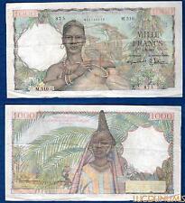 Afrique Occidentale et Togo - 1000 Francs Type 1945 5-10-1955 M.510 TTB
