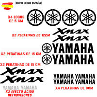 PEGATINA VINILO ADHESIVO YAMAHA MOTO XMAX VINIL STICKER DECAL KIT DE 16 unds