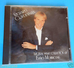 cds cd compact disc richard clayderman film music collection of ennio morricone
