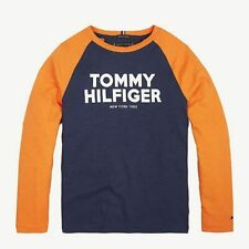 TOMMY HILFIGER BOYS LONGSLEEVE SHIRT LANGARM KB05224 NEU Gr.152 /12 Y