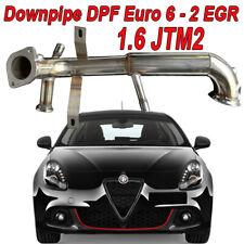 Tubo downpipe FAP DPF Removal Alfa Romeo Giulietta 1.6 JTM2 105 120 cv Eu6 FCE20