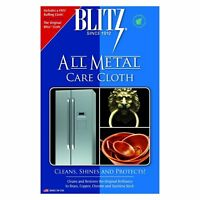 (NEW) Blitz All Metal Care Cloth Stainless Steel Copper Brass Musical House