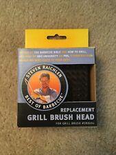 Steven Raichlen Grill Brush Head Replacement for Brush #SR8004
