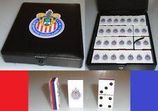 Chivas de Guadalajara Domino Set Double Six Dominoes Man Cave Great Man Men Gift