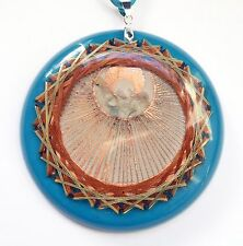 Angel Crop Circle 21 Vortex Resonator Energy Generator Orgone Orgonite Pendant