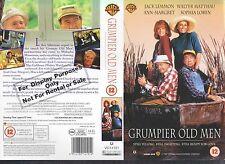 Grumpier Old Men, Jack Lemmon Video Promo Sample Sleeve/Cover #11102