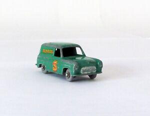 Vintage Lesney Matchbox 59-A Ford Thames Van Singer Sewing GRAY WHEELS RARE 1958