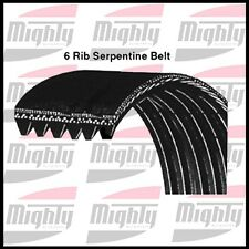 2 Serpentine Belt Mighty 6K1010 GM/FORD  1999-2000