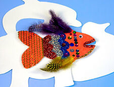 Collage Animal Shapes X24 Card Large size (15.5 x 17cm)