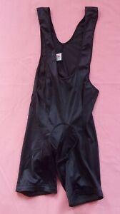 ULTIMA Cycling Shorts Bib Suit - Black - Approx MEDIUM Man's