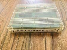 jeux neogeo snk mvs us borne arcade original world heroes 2 100% working