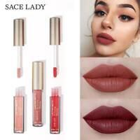 SACE LADY Matte Lip Glaze 23 Colors Liquid Lipstick Nude Lip Tint Long Lasting