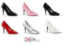 Zapatos de tacón de mujer Pleaser color principal rosa