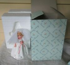 """MADAME ALEXANDER Classic Collectible Flower Bride Girl Doll 6"""" Tall Figurine"""