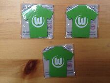 3 Stk. Fußball-Bundesliga MAGNET-PIN VFL Wolfsburg -neu und ovp-