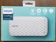 PHILIPS EVERPLAY WEATHERPROOF BLUETOOTH PORTABLE SPEAKER BT3900W/37 - OPENED BOX